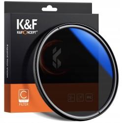 K&F FILTR Polaryzacyjny 62mm CPL HD MC slim C