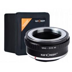 ADAPTER M42 - Canon EOSM EOS M EF-M JAKOŚĆ K&F