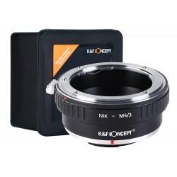 K&F Adapter Nikon NIKKOR na micro M4/3 M43
