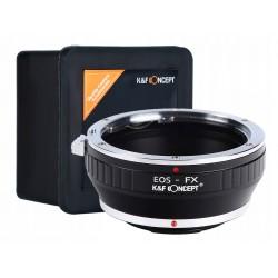 Adapter CANON EOS EF na FX Fuji X-Pro1 X-E1 X-T1