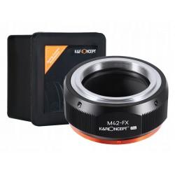 ADAPTER M42 na FX Fuji X-Pro1 K&F wersja PRO