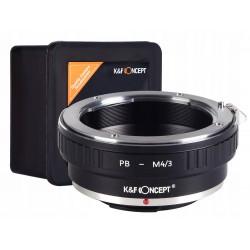 K&F ADAPTER PRAKTICA B PB na na micro M4/3 M43