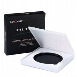 K&F CONCEPT Filtr ND szary 72mm FADER ND2-400