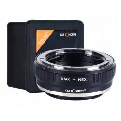 K&F Adapter Konica AR KONIKA na Sony E / NEX