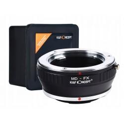 K&F ADAPTER Minolta MD na FX Fuji X-Pro1 X-E1