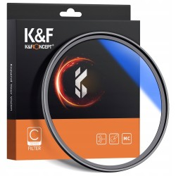 Filtr UV 58mm HD MC seria C powłoki SLIM K&F