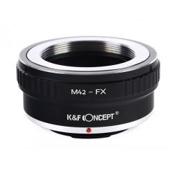 ADAPTER M42 na FX Fuji X-Pro1 X-E1 Jakość K&F