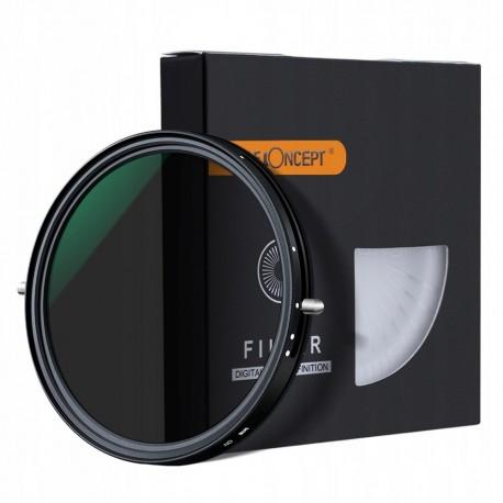 FILTR CPL+ND2-ND32 regulowany 52mm Nano-X PRO MRC