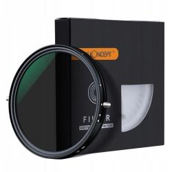 FILTR CPL+ND2-ND32 regulowany 58mm Nano-X PRO MRC