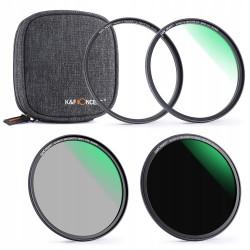 Zestaw filtrów MAGNETYCZNYCH MC UV CPL ND1000 82mm