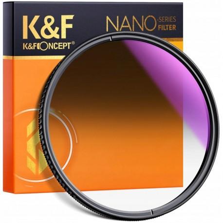 K&F FILTR POŁÓWKOWY szary NanoX GND8 Soft 82mm