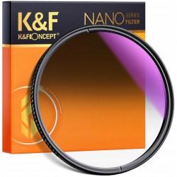 K&F FILTR POŁÓWKOWY szary NanoX GND8 Soft 77mm