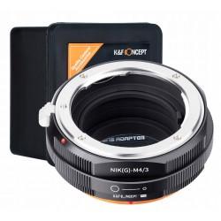 KF Adapter Nikon(G) na micro M4/3 z pop. przysłony