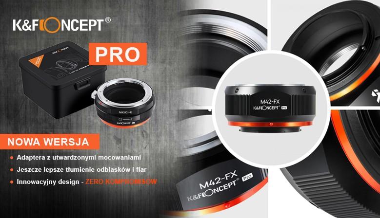 Adaptery K&F PRO
